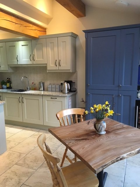 painted wooden kitchen York
