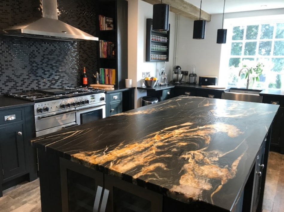 Incredible Hand Painted Kitchen In Derbyshire Hand Painted Kitchens Home Interior And Landscaping Ologienasavecom