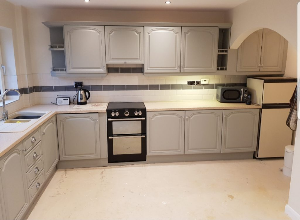painting kitchen cabinets nottingham
