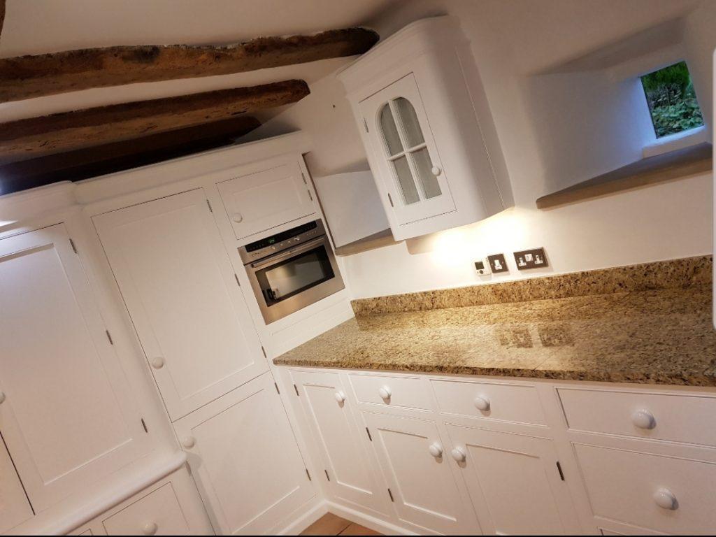 Hand painted kitchen Leek