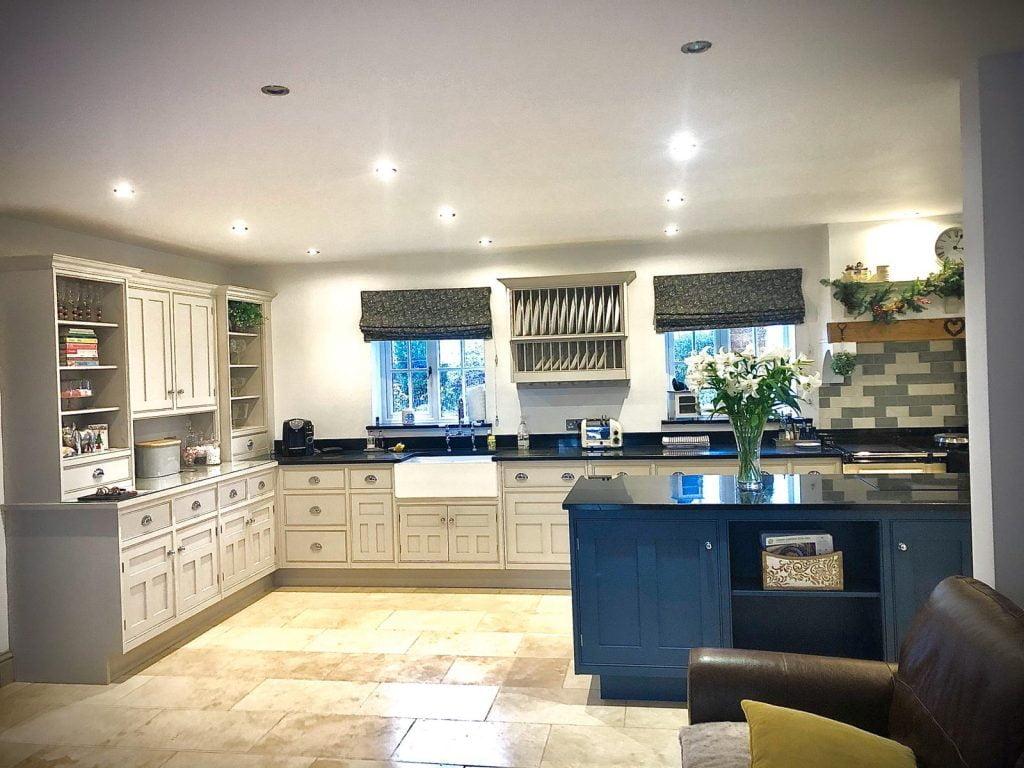 Painted kitchen Wiltshire