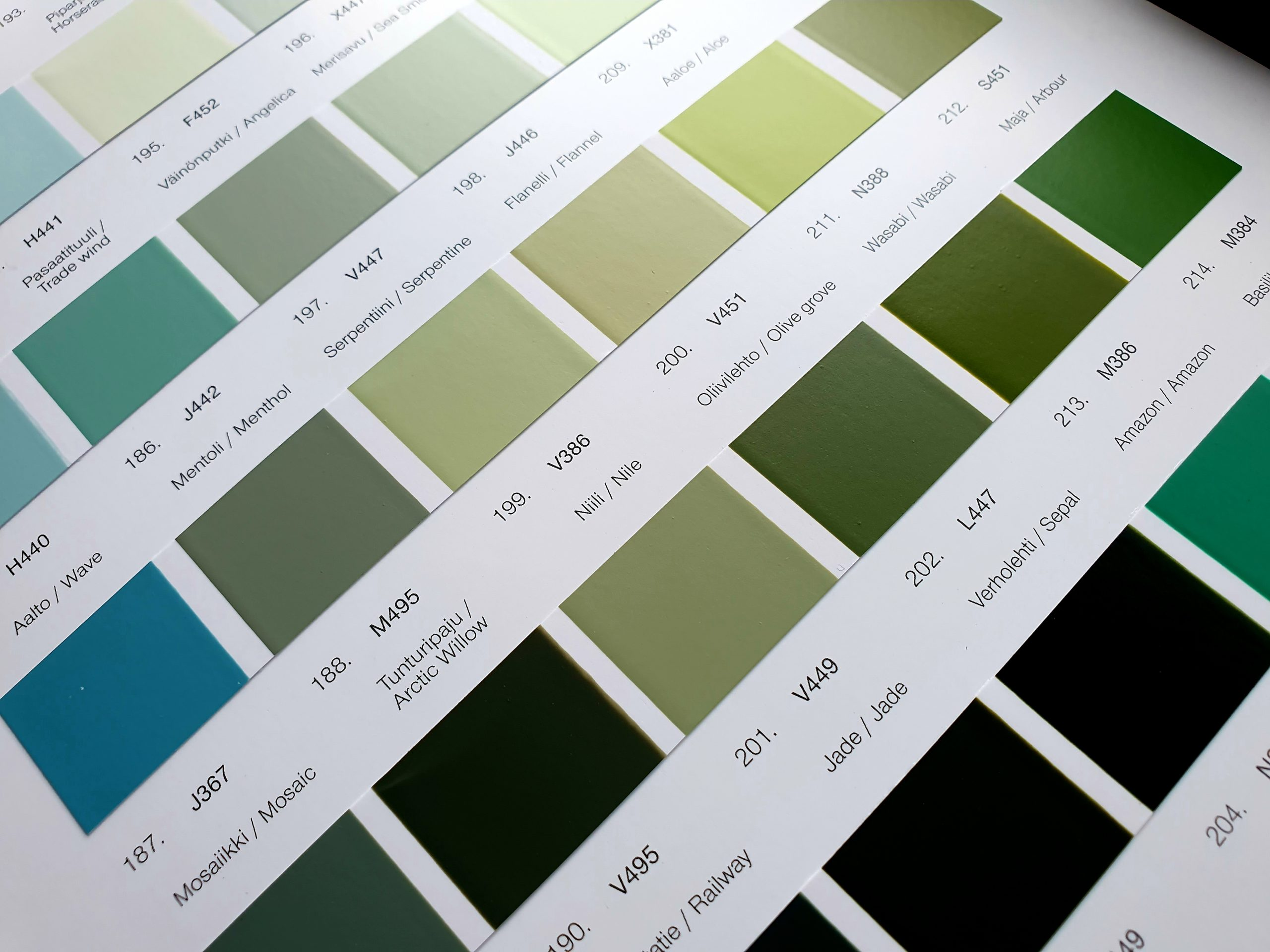 painting kitchens green
