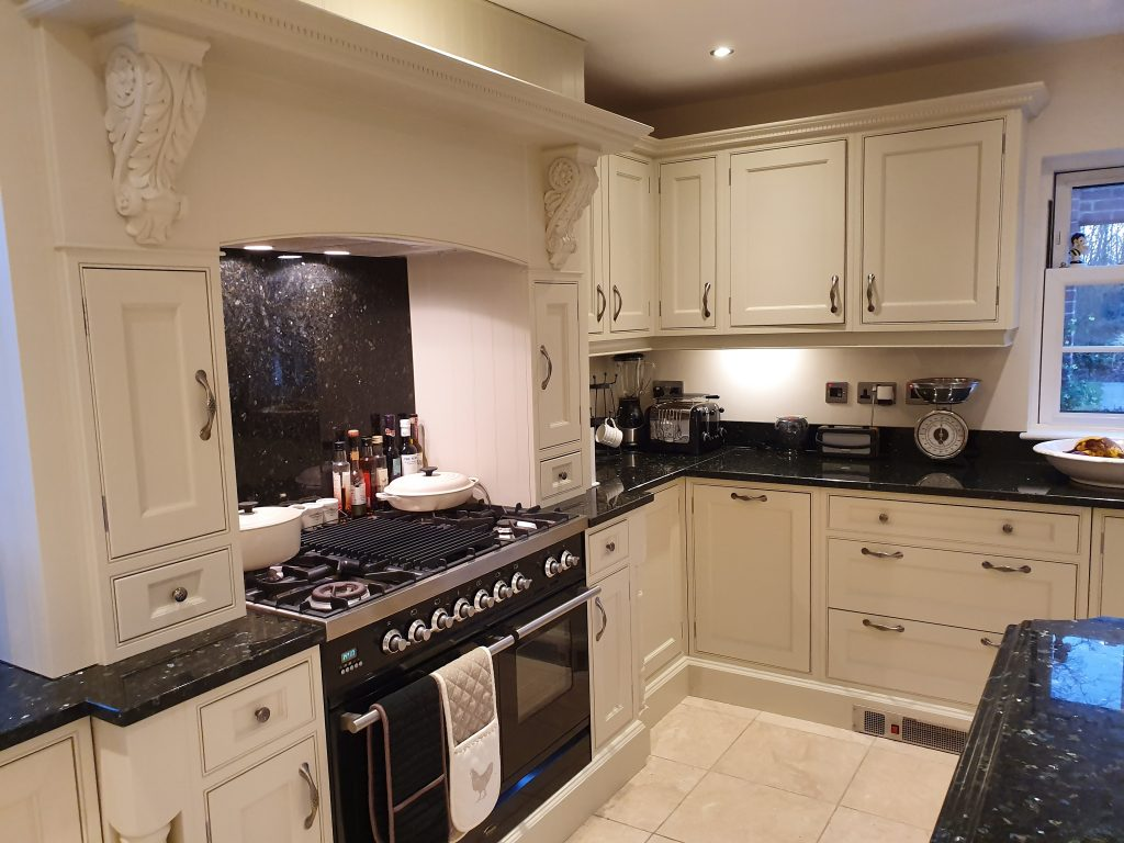 Hand painted kitchens Derbyshire