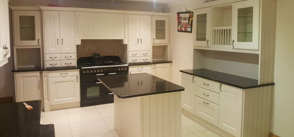 painted kitchens galway