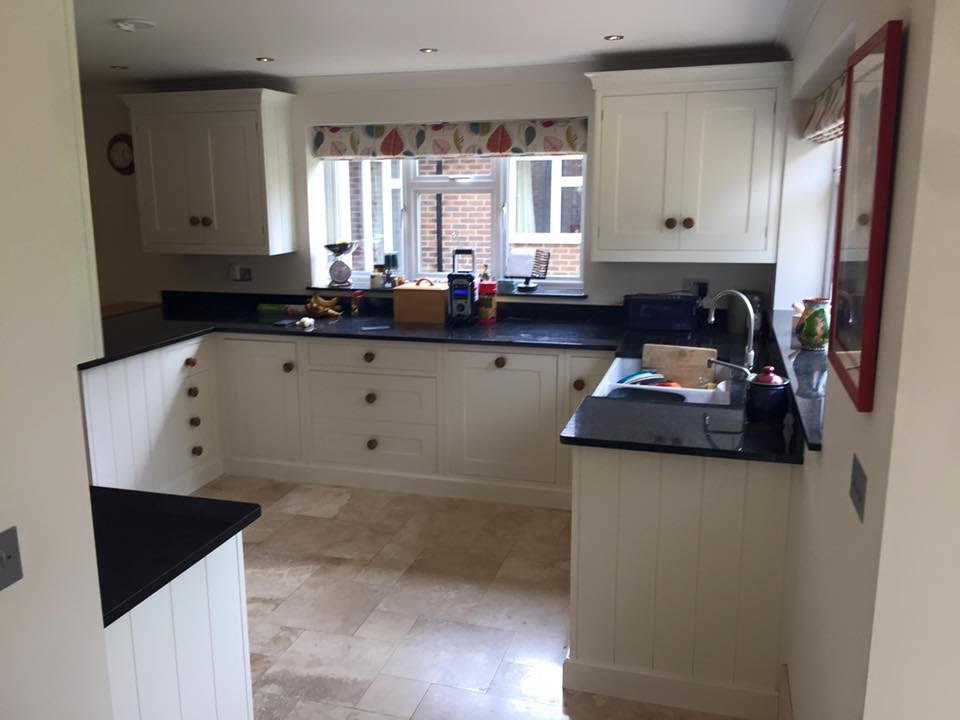 hand painted kitchen hertfordshire