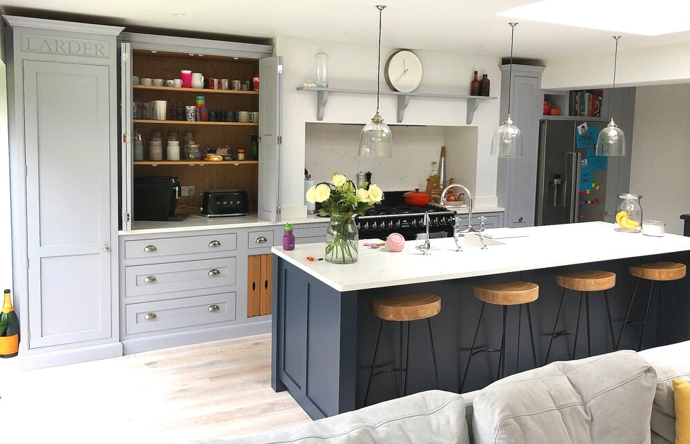 Hand painted kitchen Surrey