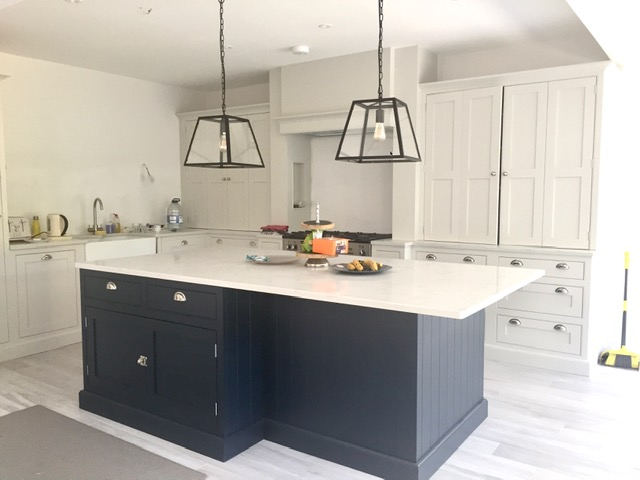 Painted kitchen cabinets London