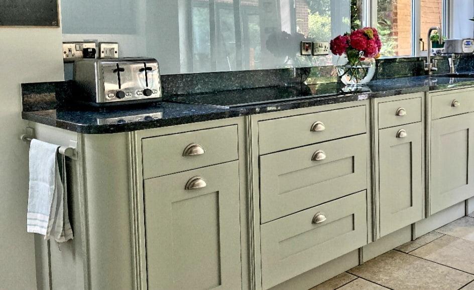 Painted Smallbone Kitchen Hertfordshire - Hand Painted ...