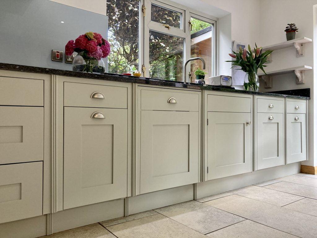 painted small bone kitchen London