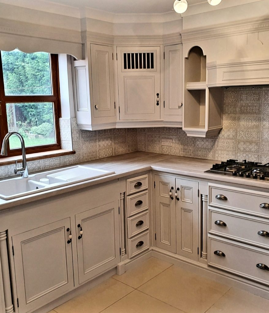Painted Pine Kitchen