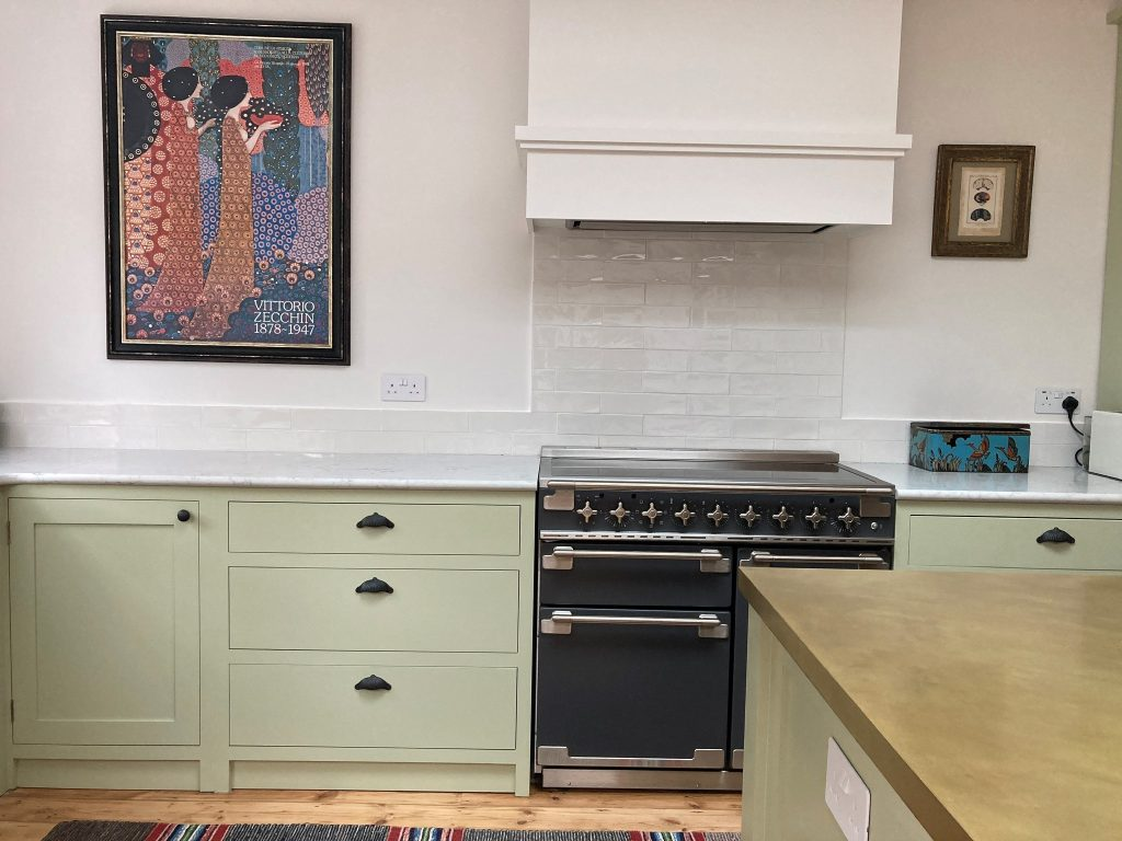 Painted Kitchen Muswell Hill