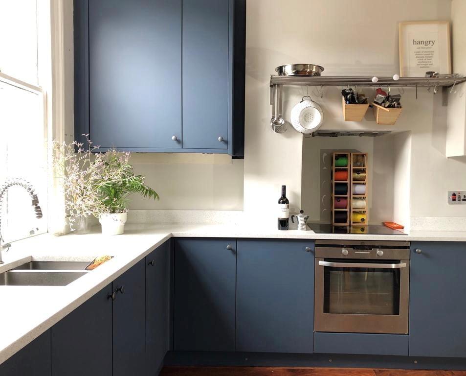 Painted kitchen Finsbury Park