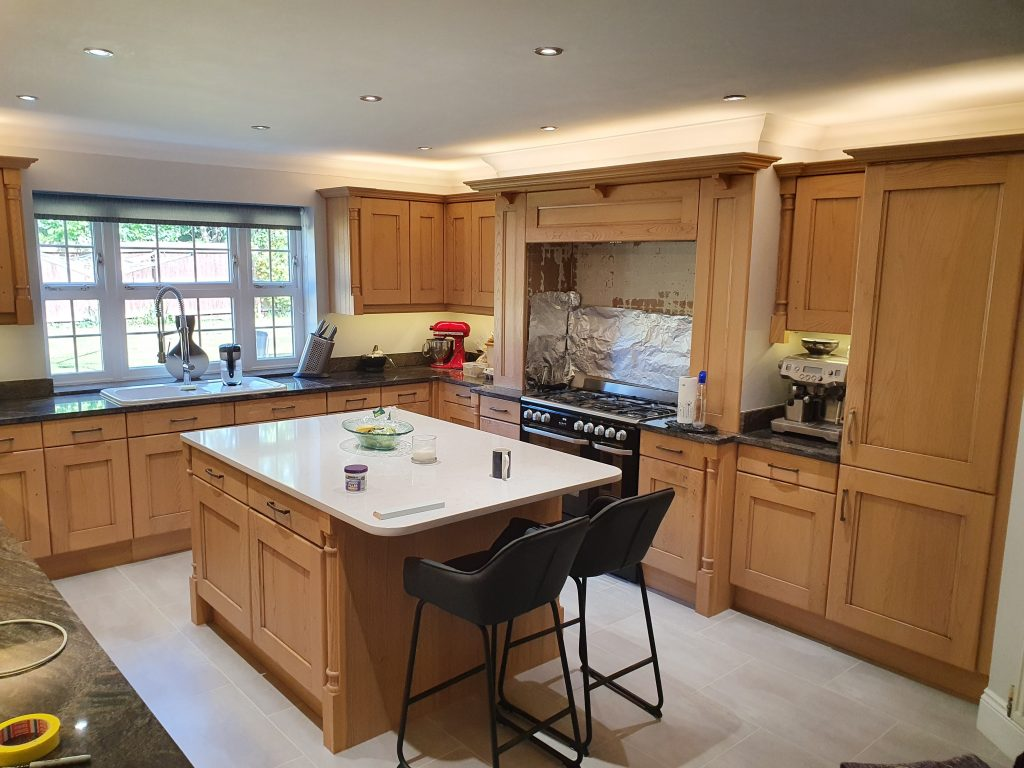 painted kitchens Wiltshire