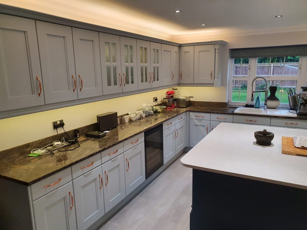 Painting kitchens Wiltshire