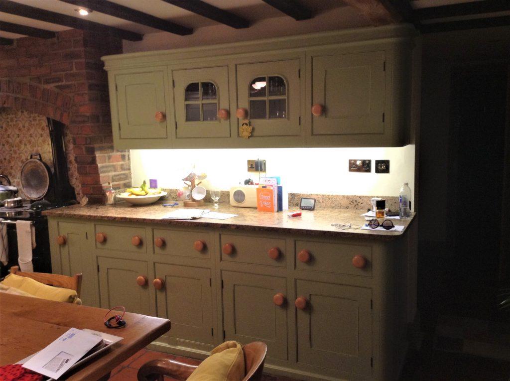 Painted Mark Wilkinson Kitchen