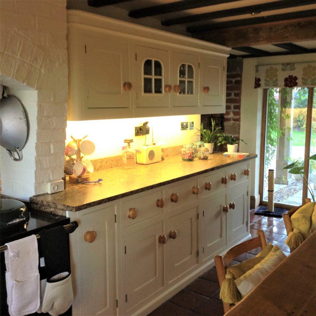 Painting Mark Wilkinson Kitchens
