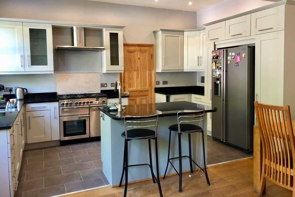Painted kitchen Twickenham