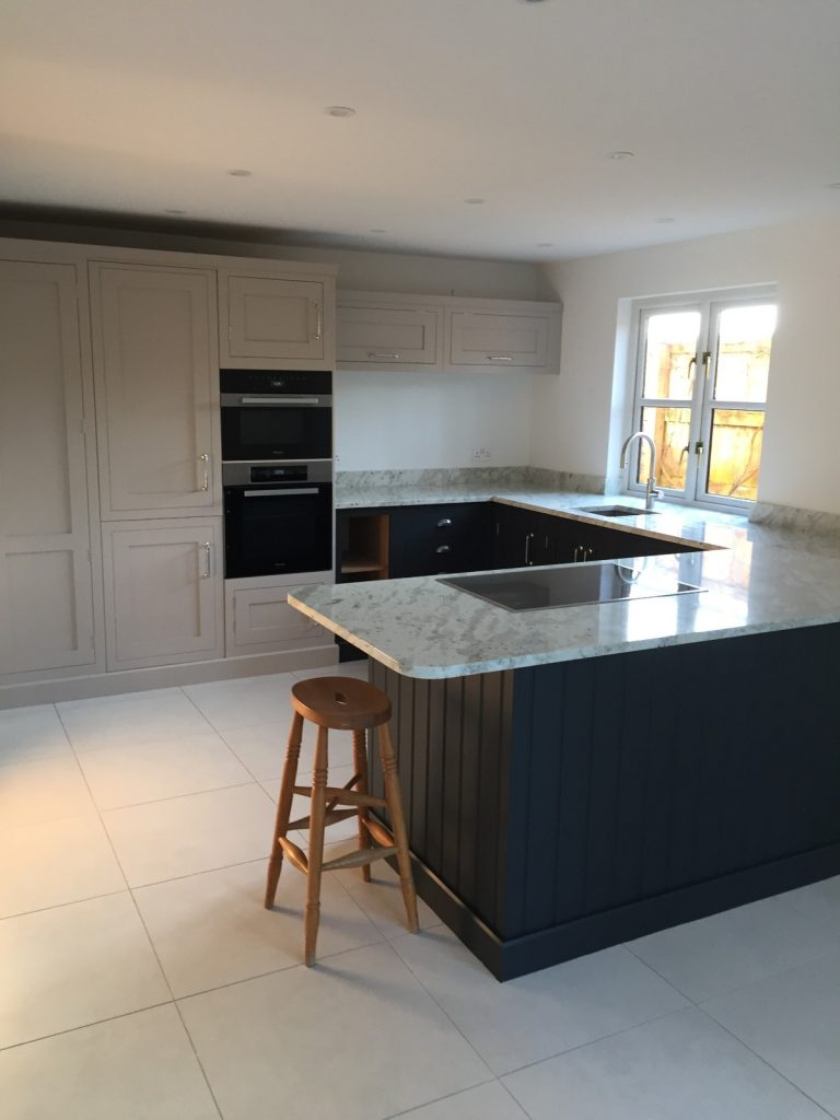beautifully painted kitchen Devon