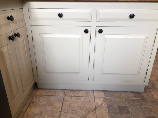 Hand painted kitchen Nether Wasdale