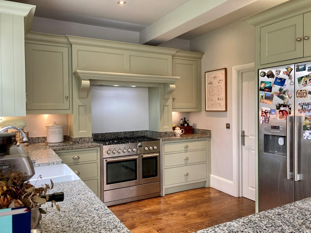 Howdens painted kitchen Essex